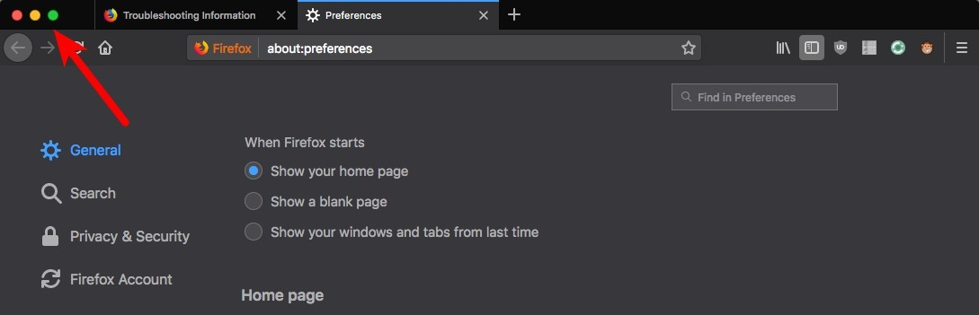 Firefox Window Controls on Left - Basic Help & Support - ArchLabs Linux