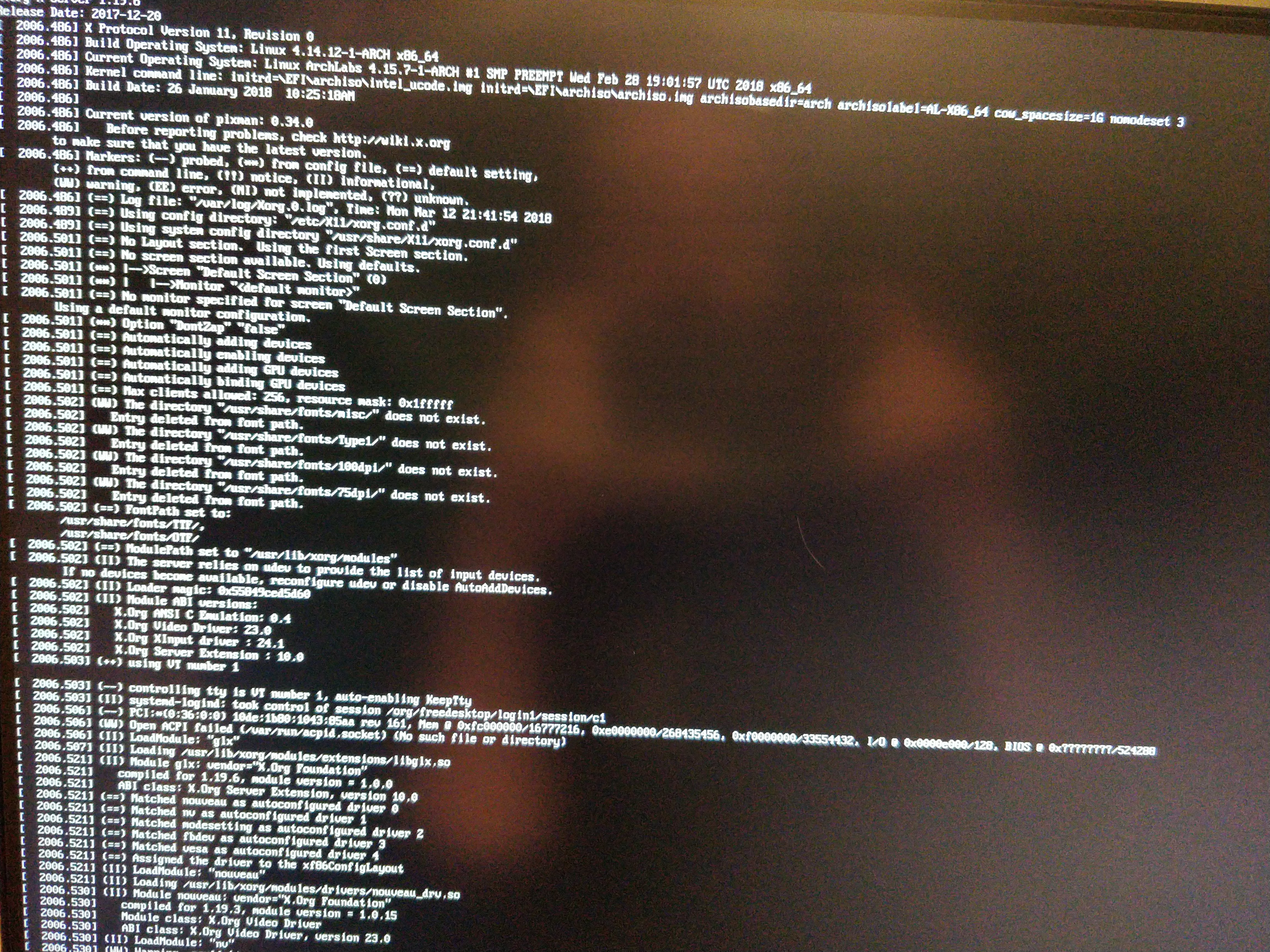 Cannot Get To Installer With Nvidia GPU - Technical Issues