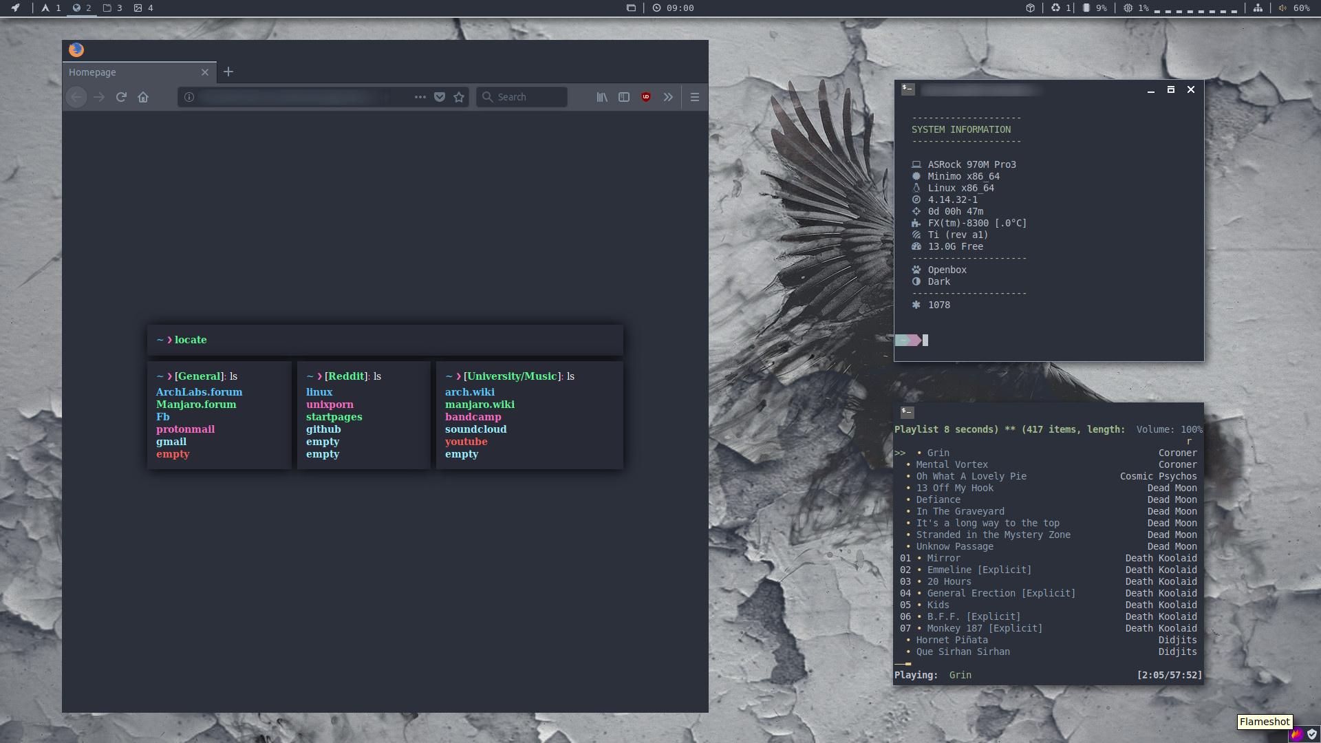 April 2018 Screenshot Thread - Artwork - ArchLabs Linux