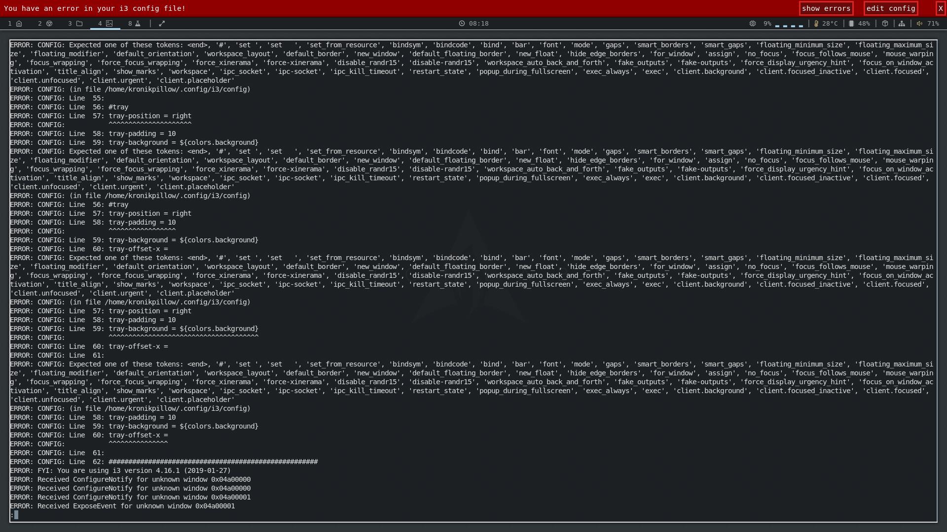Tray icon solution & notifications - Configs, Scripts, Tutorials