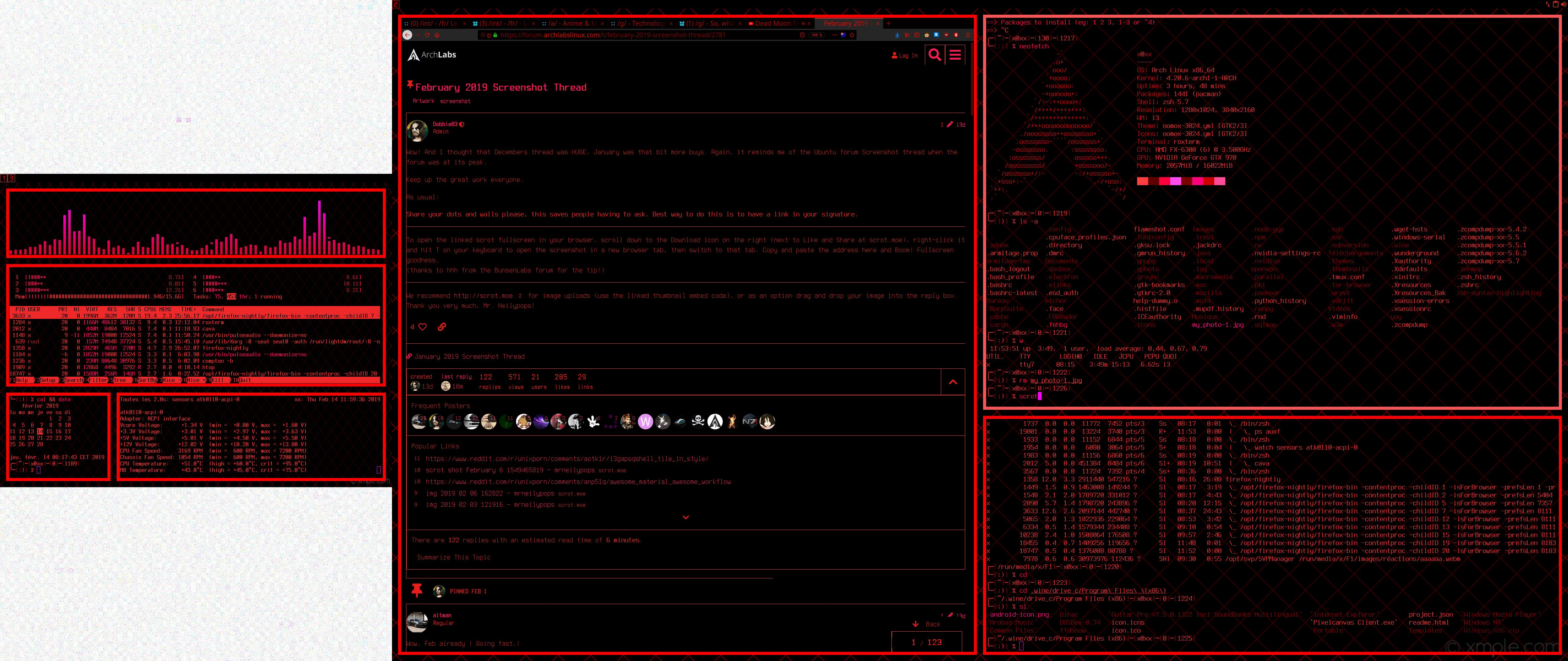 February 2019 Screenshot Thread - Artwork - ArchLabs Linux