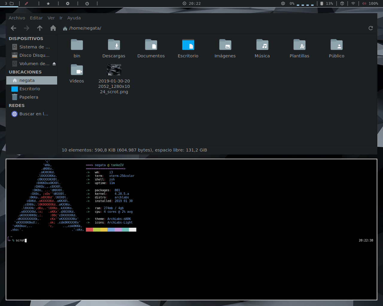 ArchLabs 2019 01 Refresh - Announcements - ArchLabs Linux