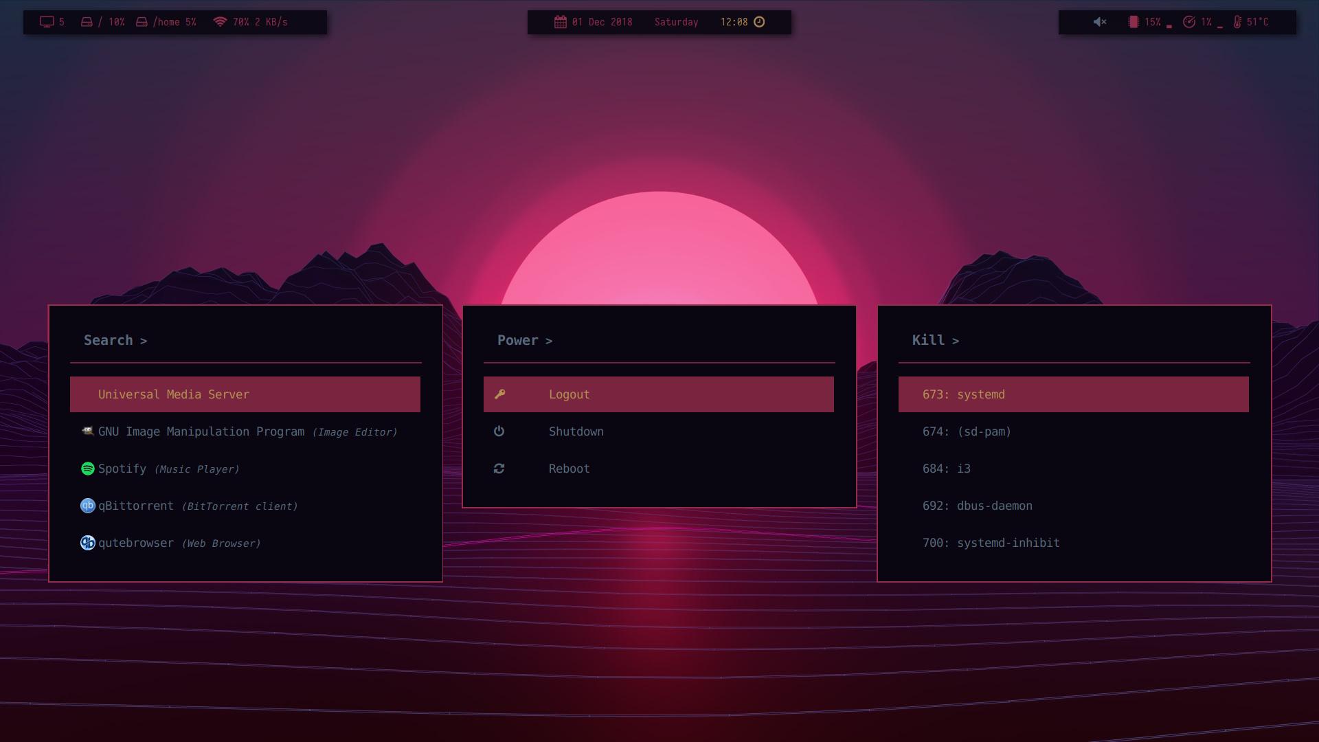 Show Me Your Rofi - Rofi - ArchLabs Linux