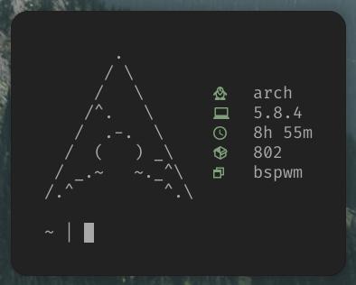 Znalezione obrazy dla zapytania: arch linux simple fetch
