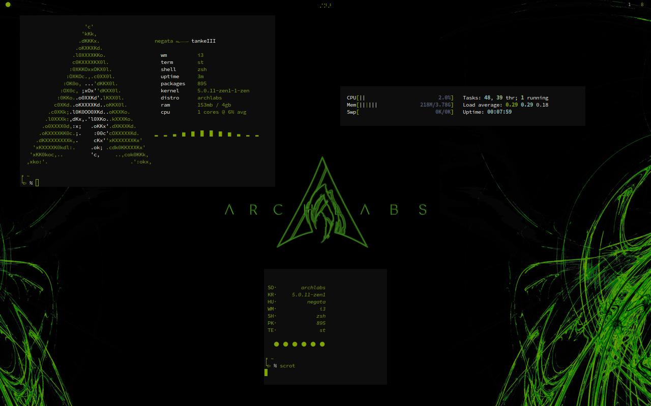May 2019 Screenshot Thread - Artwork - ArchLabs Linux